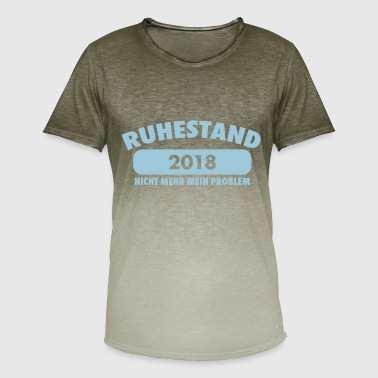 Funny retirement party gift - Men's T-Shirt with colour gradients