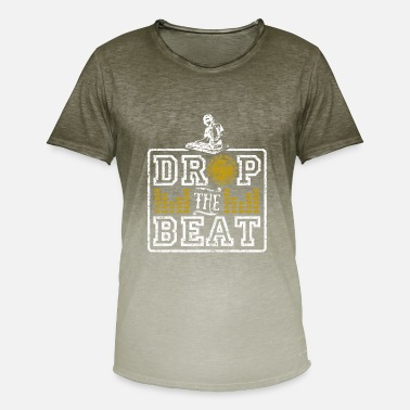 Drop The Beat Drop The Beat - Männer Farbverlauf T-Shirt