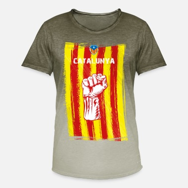 Catalan Independence catalunya - Men's Colour Gradient T-Shirt