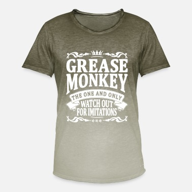 Grease Monkey grease monkey the one and only - Men's T-Shirt with colour gradients