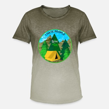 National Park National Parks - Men's Colour Gradient T-Shirt