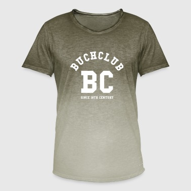 College Style Book Club College Style - Men's T-Shirt with colour gradients