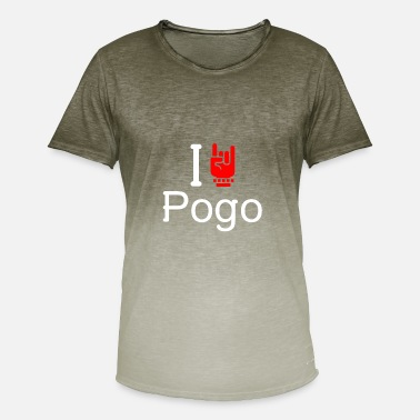 Pogo Pogo - Men's T-Shirt with colour gradients