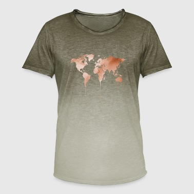 Earth earth earth - Men's T-Shirt with colour gradients