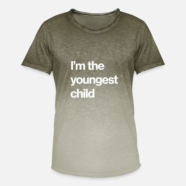 Childish Gambino I'm the youngest child - Men's Colour Gradient T-Shirt