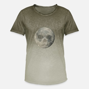 Full Moon Full Moon - Herre T-shirt i colour-block-optik