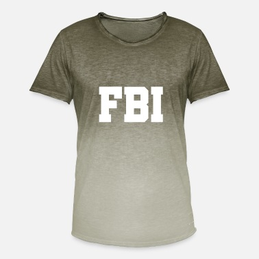 Federal State Federal Bureau of Investigation - US Federal Bureau of Investigation - Men's T-Shirt with colour gradients