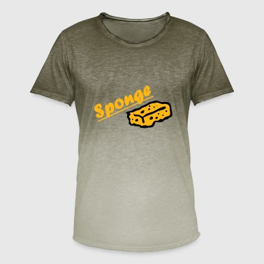 Sponge Sponge sponge design - Men's T-Shirt with colour gradients