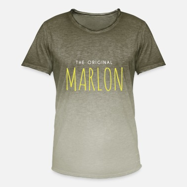 Marlon Marlon's gift - Men's T-Shirt with colour gradients