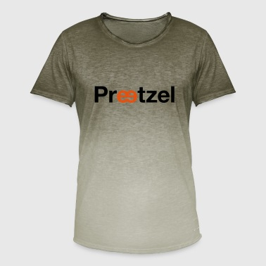 Pretzel Pretzel, pretzel - Men's T-Shirt with colour gradients