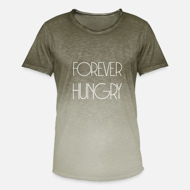 Chomp FOREVER HUNGRY - Idea de regalo de Wolverine - Camiseta degradada hombre