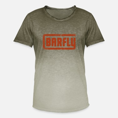 Solbrændte Barfly - Original Logo - Herre T-shirt i colour-block-optik