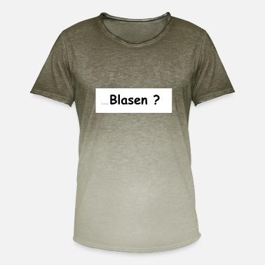 Blowing blow - Men's T-Shirt with colour gradients