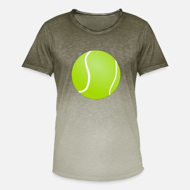 Tennis Ball Tennis ball - Men's T-Shirt with colour gradients