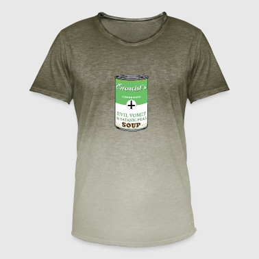 The Exorcist Exorcist's soup - Men's T-Shirt with colour gradients