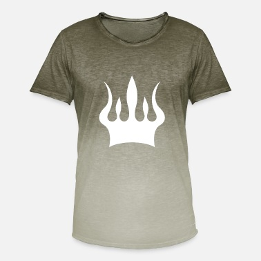 Logo Crown Crown · Crowns - Men's T-Shirt with colour gradients