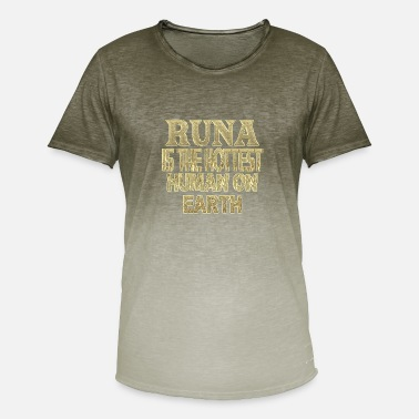 Run Runa - T-skjorte med fargegradering for menn