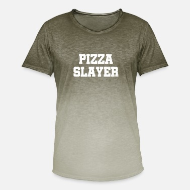 Slayer Pizza Slayer - Men's T-Shirt with colour gradients