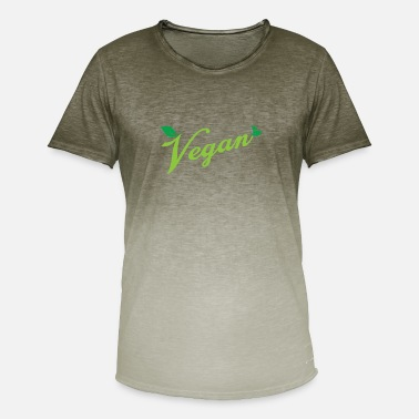 Meatless Vegan Meatless Healthy - Men's T-Shirt with colour gradients