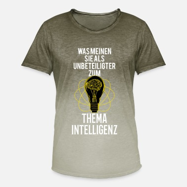Topical Topic intelligence - Men's Colour Gradient T-Shirt