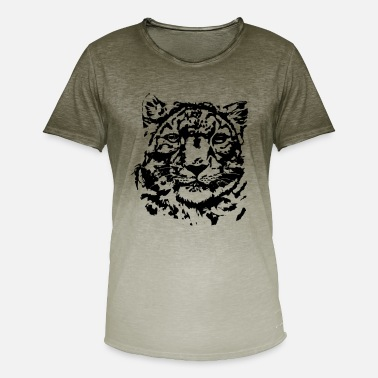 Tiger tiger - T-shirt i colour-block-optik mænd