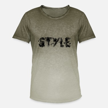 Style, Modern, Stylish, Mordern, Mode, Fashion - Men's Colour Gradient T-Shirt