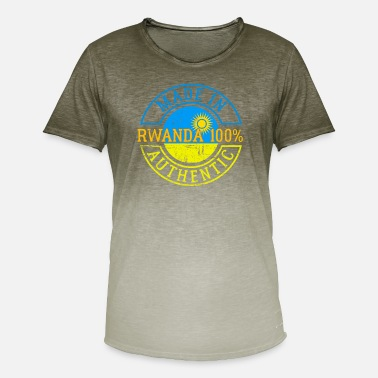 Rwanda Rwanda - Men's Colour Gradient T-Shirt