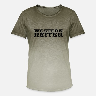 Western Rider Western Rider - Men's Colour Gradient T-Shirt