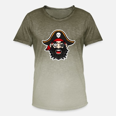 Pirate Party Halloween Pirate Party - Pirate Captain for Part - Men's Colour Gradient T-Shirt
