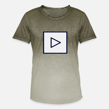 Youtube Youtube botton - Camiseta degradada hombre