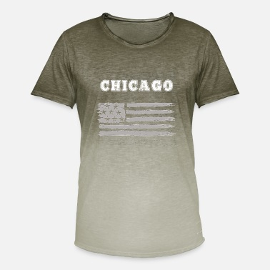 Chicago Bears Chicago - Mannen kleurverloop T-Shirt