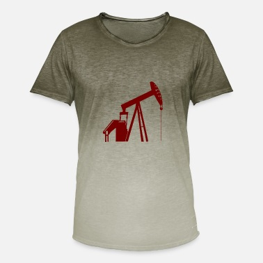 Spill There is oil and money in the earth - Men's Colour Gradient T-Shirt