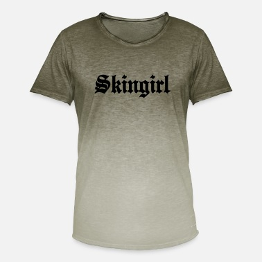 Skingirl Working Class Skingirl Oi! Antiracist Bootgirl My - Men's Colour Gradient T-Shirt