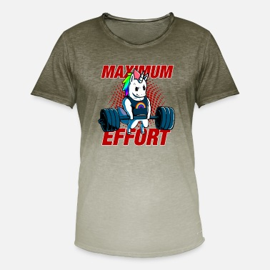 Effort Maximum effort - Men's Colour Gradient T-Shirt
