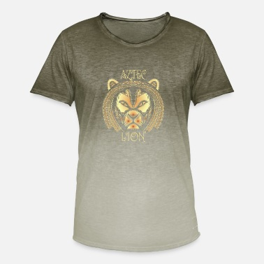Aztek Löwe Azteke - Men's Colour Gradient T-Shirt