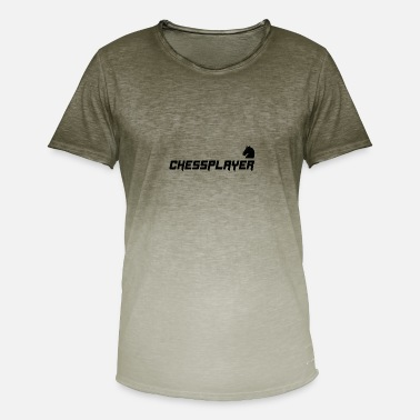 Chess t shirt - Men's Colour Gradient T-Shirt