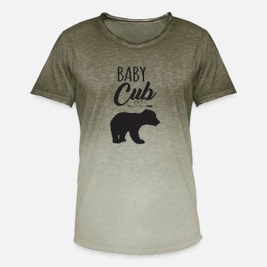 Cub Baby cub - Men's Colour Gradient T-Shirt