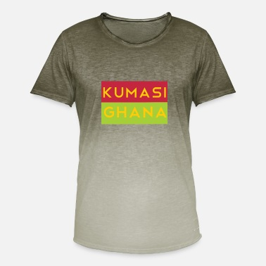Kumasi Kumasi Fhana shirt - Men's Colour Gradient T-Shirt