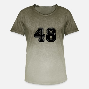 48% 48 - Men's Colour Gradient T-Shirt