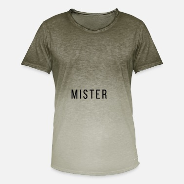 Mister Mister - Men's Colour Gradient T-Shirt