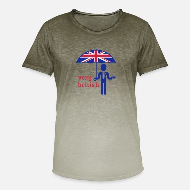 Ascot Very British (3C) - Men's Colour Gradient T-Shirt