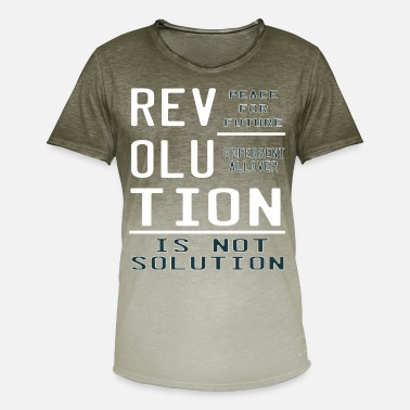 Revolutionary This is the awesome revolutionary Tshirt Those - Men's Colour Gradient T-Shirt