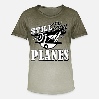 Model Airplane model airplane - Men's Colour Gradient T-Shirt