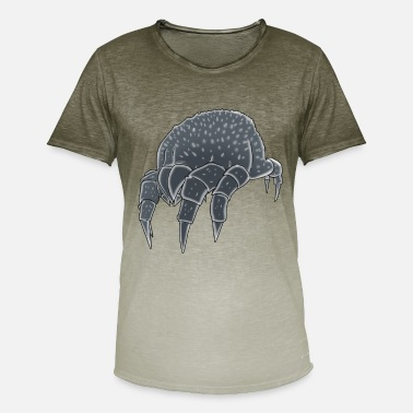 Walging Mijt insect insect walging fobie plaag - Mannen kleurverloop T-Shirt