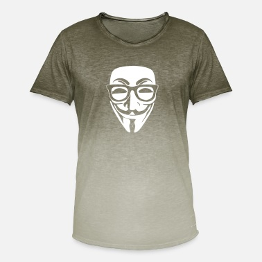 Anonymous geek anonymous - T-shirt dégradé Homme