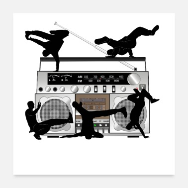 Breakdance BREAKDANCE & RADIO - Poster