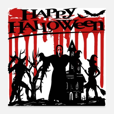 Horror Halloween horror Happy Halloween - Poster