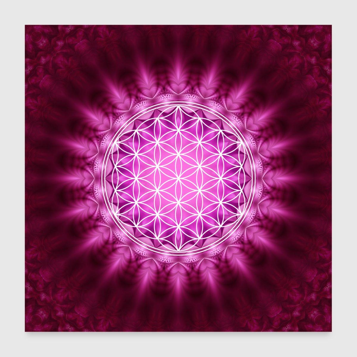 Flower Of Life Yoga Meditation Lotus Mandala By By Yuma Spreadshirt