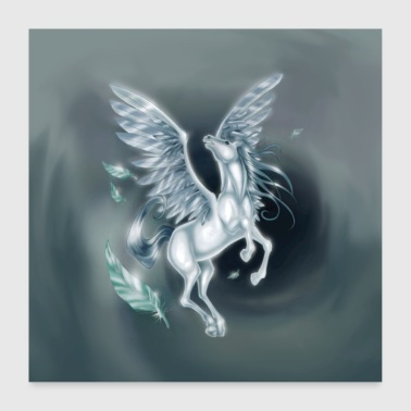 Pegasus 2 [Juliste Version] - Juliste 60x60 cm