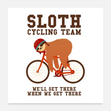 Dovendyr Sloth Cycling Team - Poster